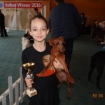 1st place child with a dog (age: 7-13)